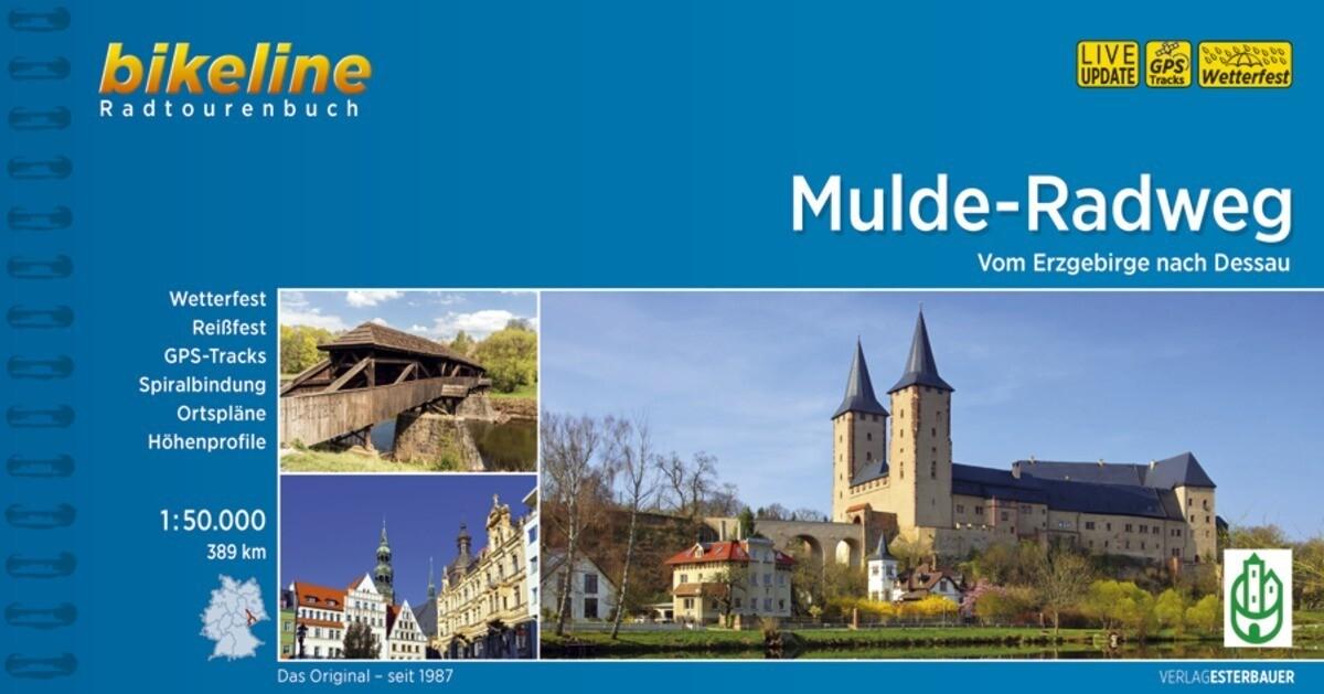 Bikeline Muldental-Radweg 1 : 50 000 als Buch