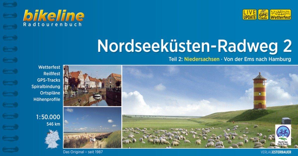 Bikeline Radtourenbuch Nordseeküsten-Radweg 02 als Buch