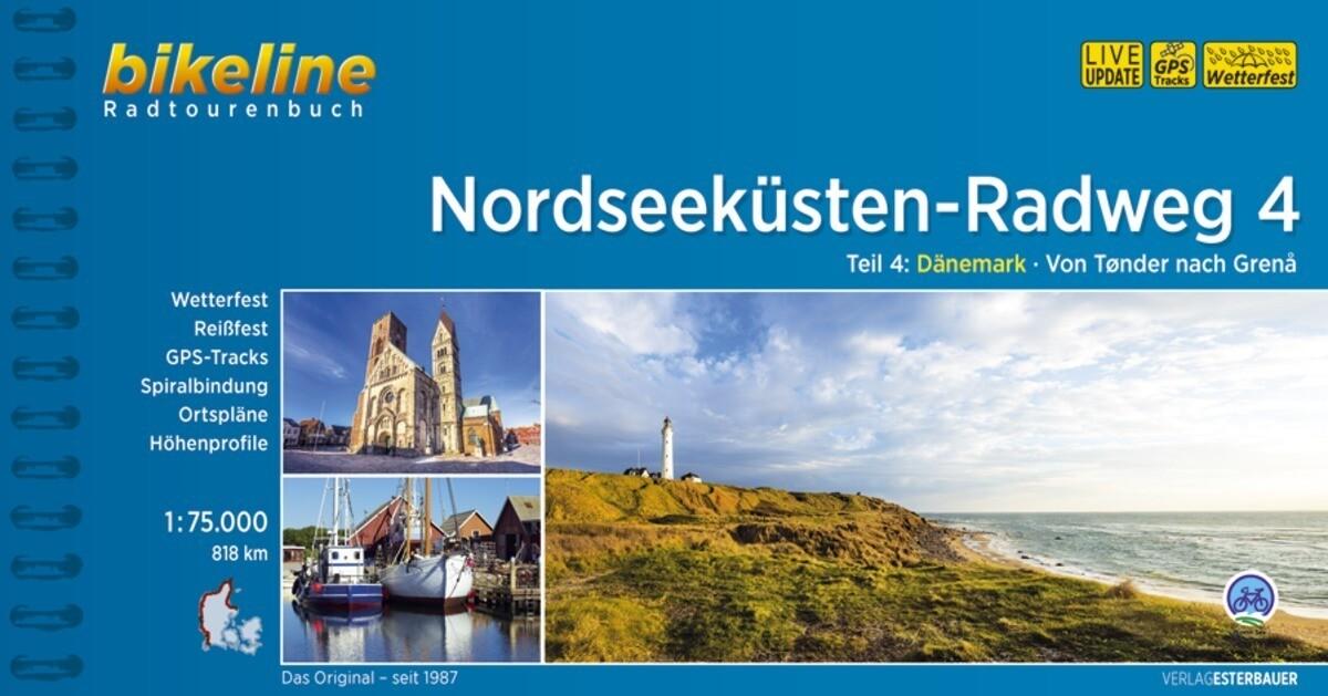 Bikeline Nordseeküsten-Radweg 4 als Buch