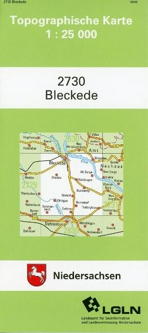 Bleckede 1 : 25 000 als Buch