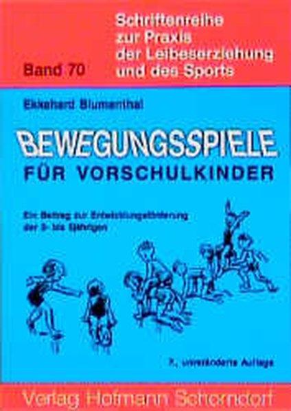 Bewegungsspiele für Vorschulkinder als Buch