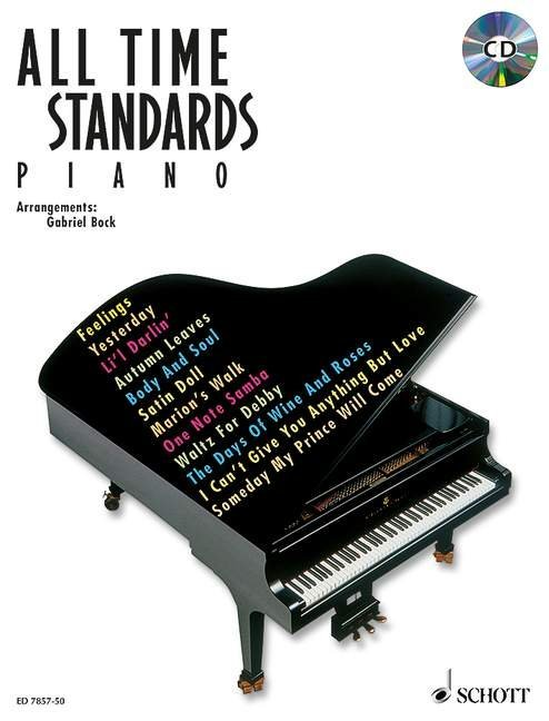 All Time Standards. Piano. Mit CD als Buch