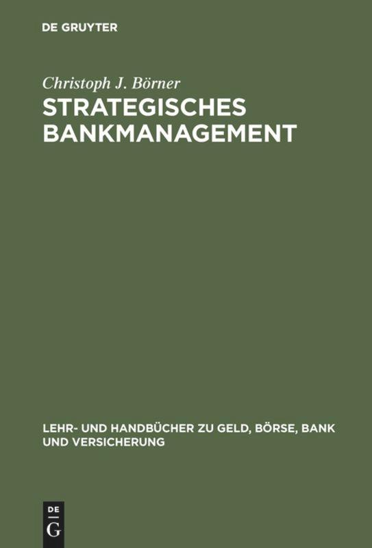 Strategisches Bankmanagement als Buch