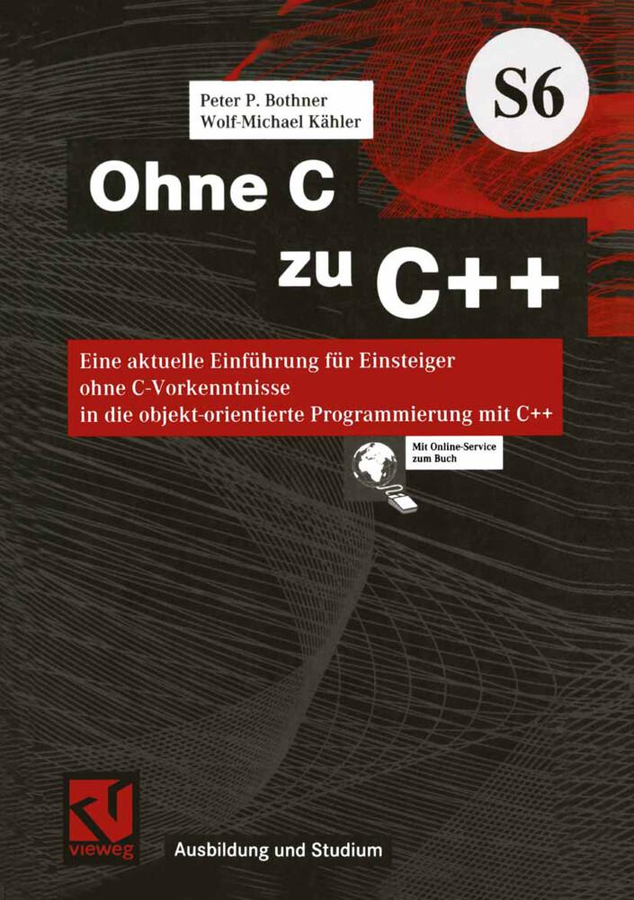 Ohne C zu C++ als Buch