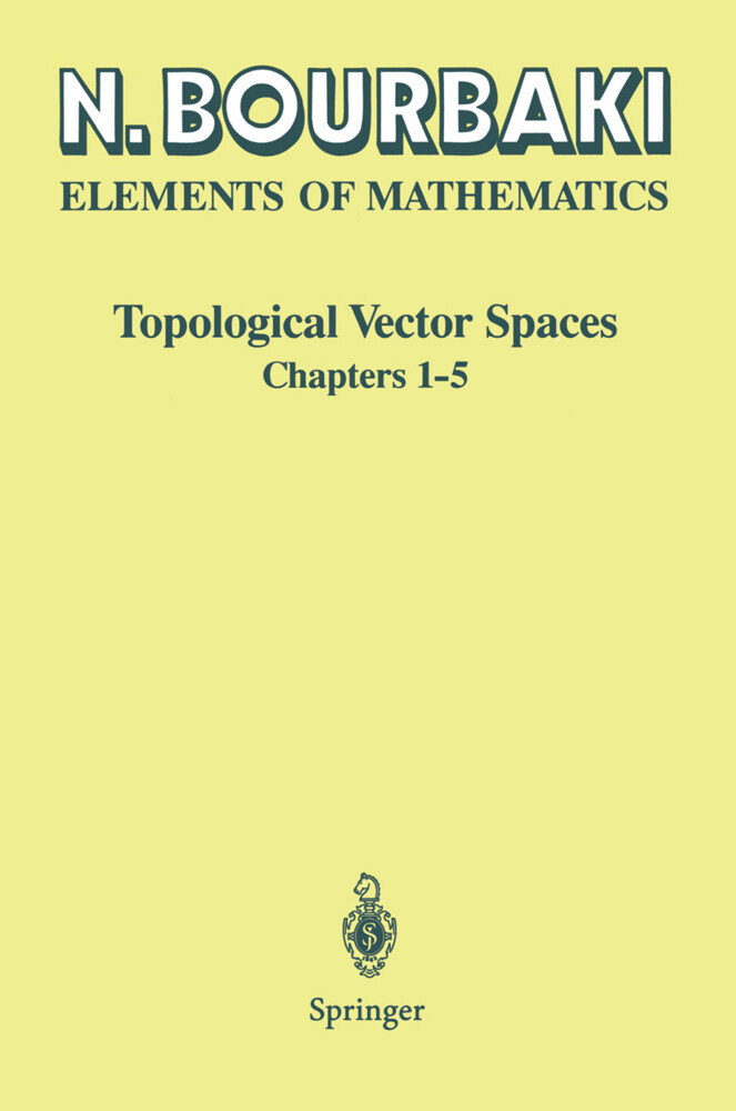 Topological Vector Spaces als Buch