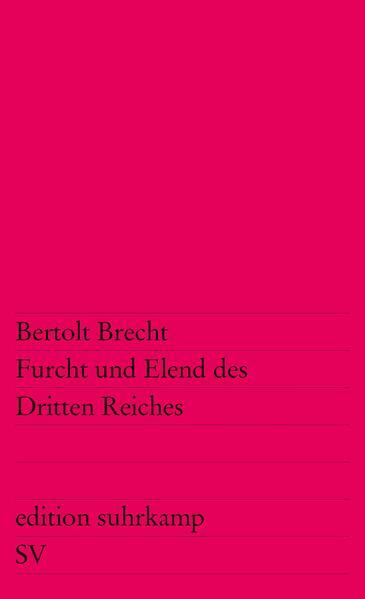 Furcht und Elend des Dritten Reiches als Taschenbuch