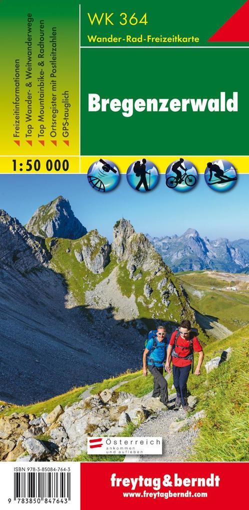 Bregenzer Wald 1 : 50 000 als Buch