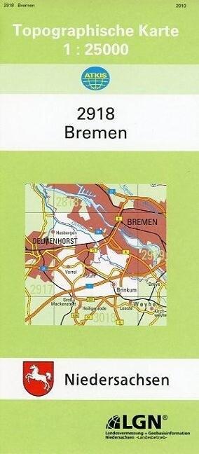 Bremen 1 : 25 000. (TK 2918/N) als Buch