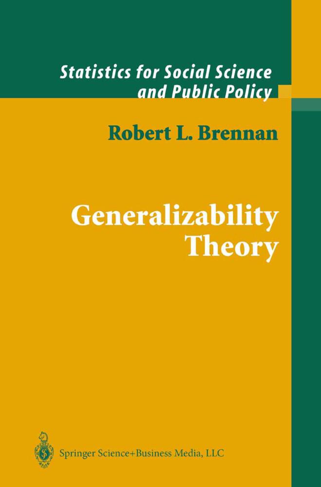 Generalizability Theory als Buch