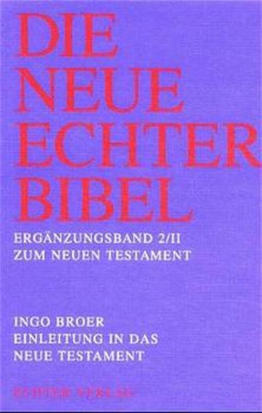Einleitung in das Neue Testament als Buch