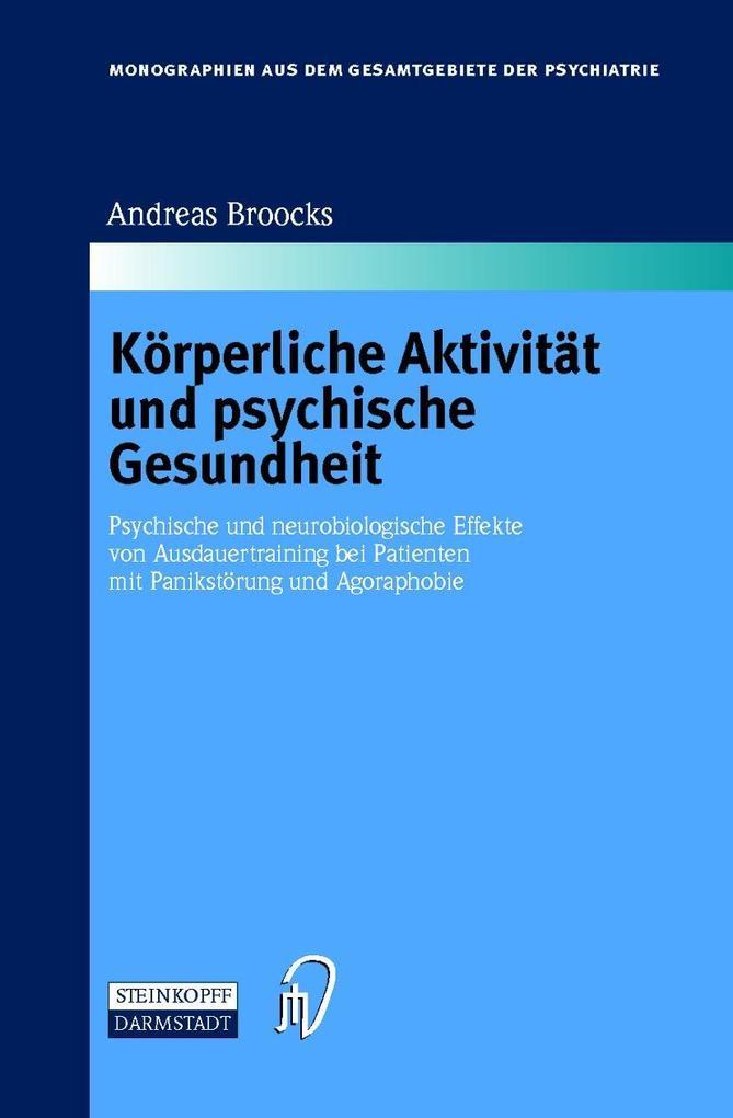 Körperliche Aktivität und psychische Gesundheit als Buch