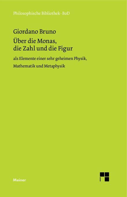 Über die Monas, die Zahl und die Figur als Buch