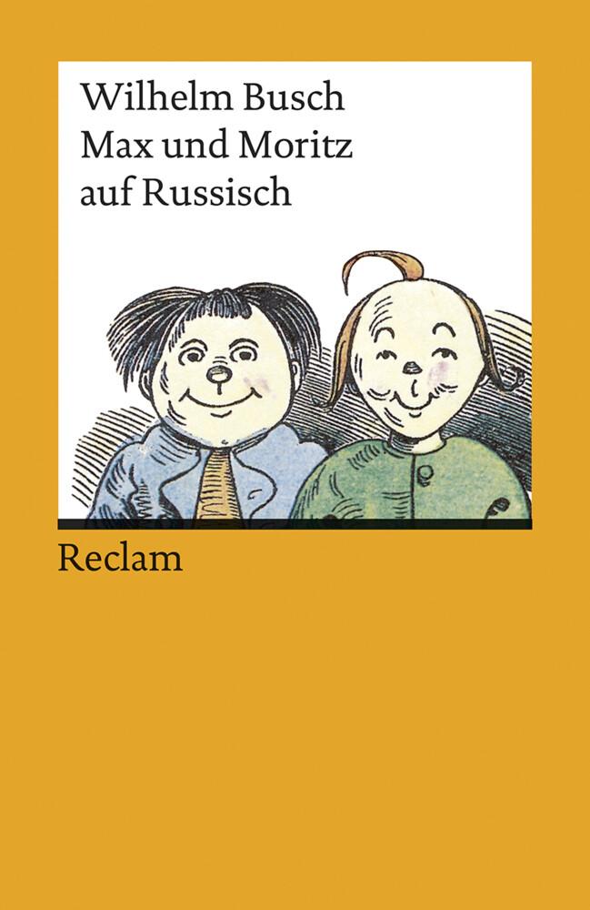Max und Moritz auf russisch als Taschenbuch