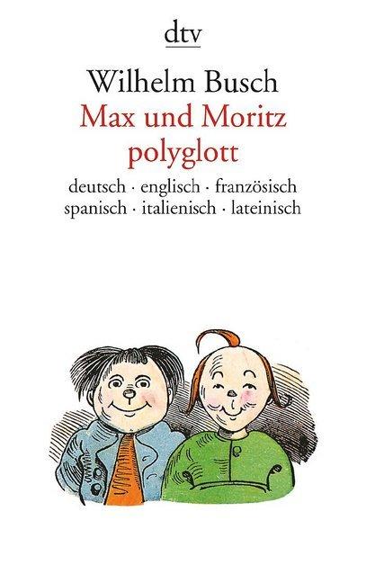 Max und Moritz, polyglott als Taschenbuch