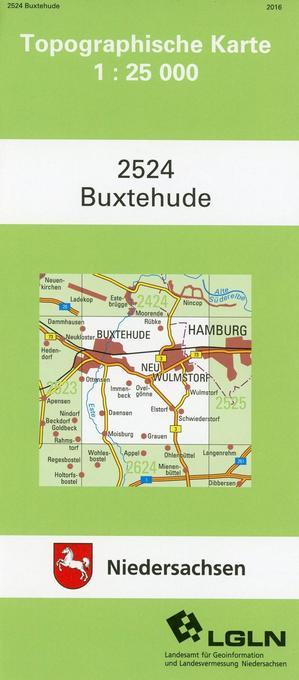 Buxtehude 1 : 25 000. (TK 2524/N) als Buch