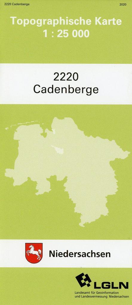 Cadenberge 1 : 25 000 als Buch