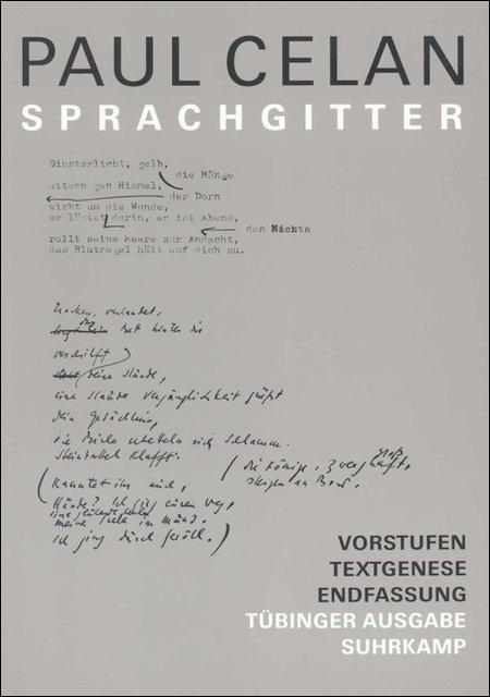 Sprachgitter als Buch