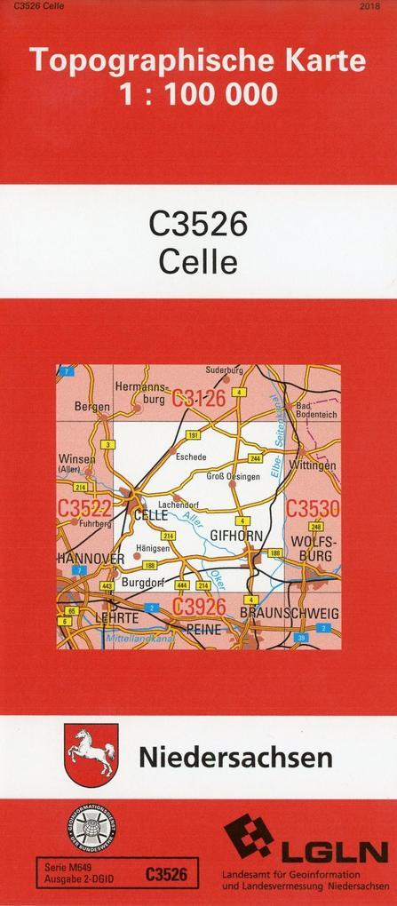 Celle 1 : 100 000. (TK 3526/N) als Buch