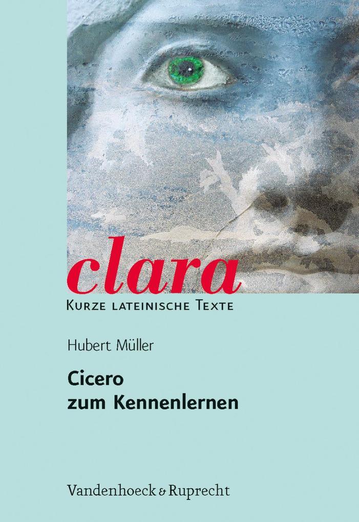 Cicero zum Kennenlernen als Buch