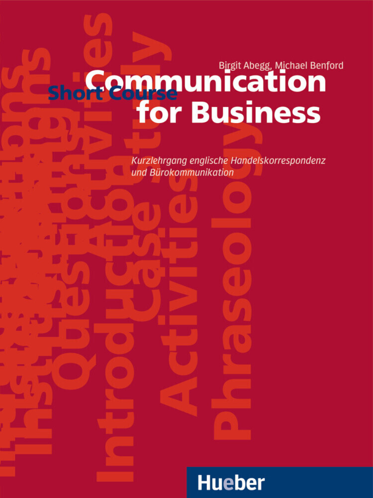 Communication for Business. Short Course. Lehrbuch als Buch
