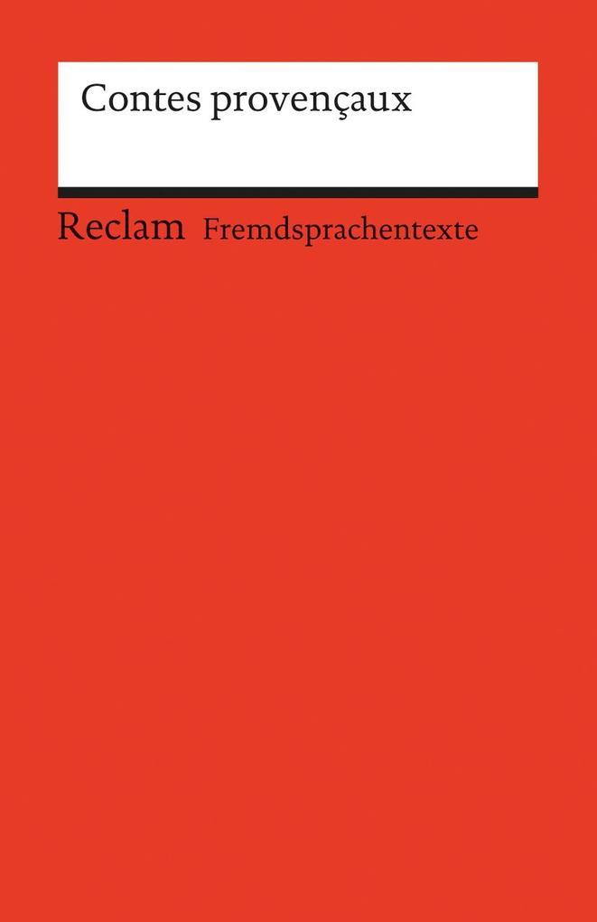 Contes provencaux als Taschenbuch