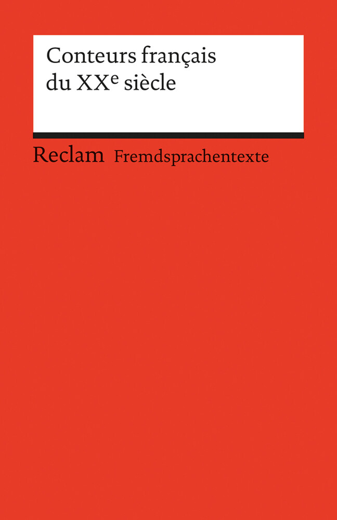Conteurs francais du XXe siecle als Taschenbuch