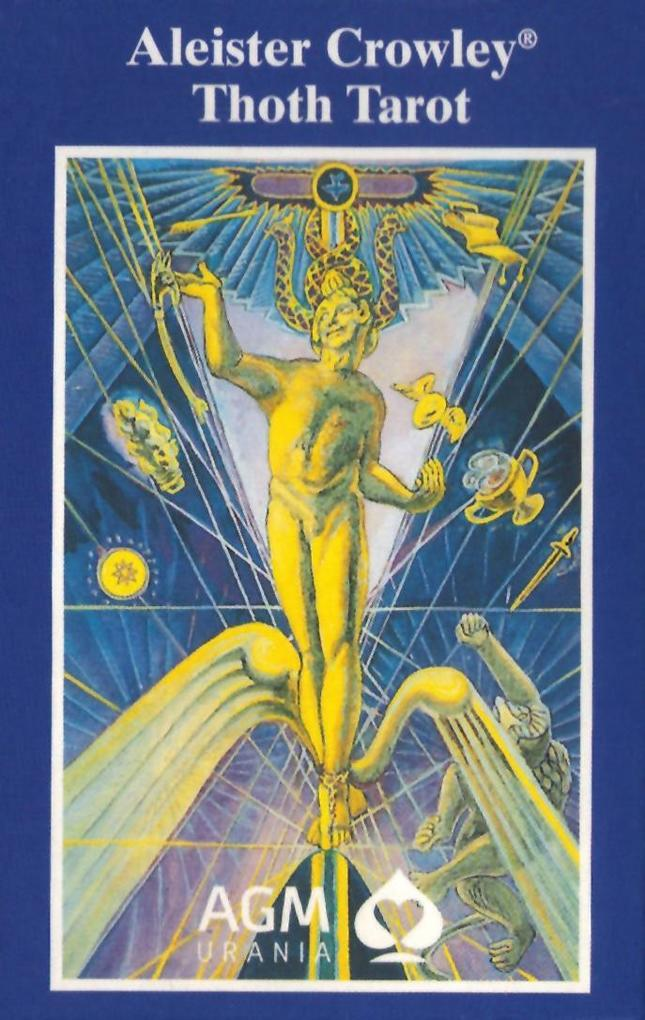 Crowley Thoth Tarot. De Luxe Ausgabe. 78 Karten als Buch