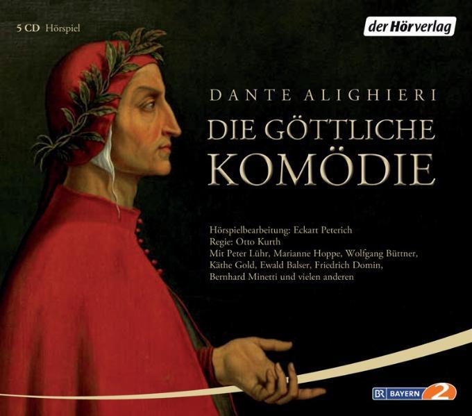 Die göttliche Komödie. 5 CDs als Hörbuch