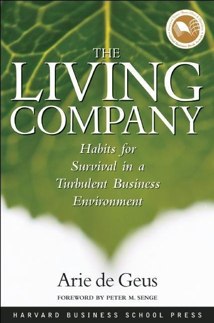 The Living Company als Buch