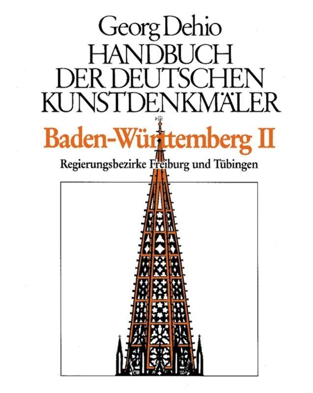 Baden-Württemberg 2. Handbuch der deutschen Kunstdenkmäler als Buch