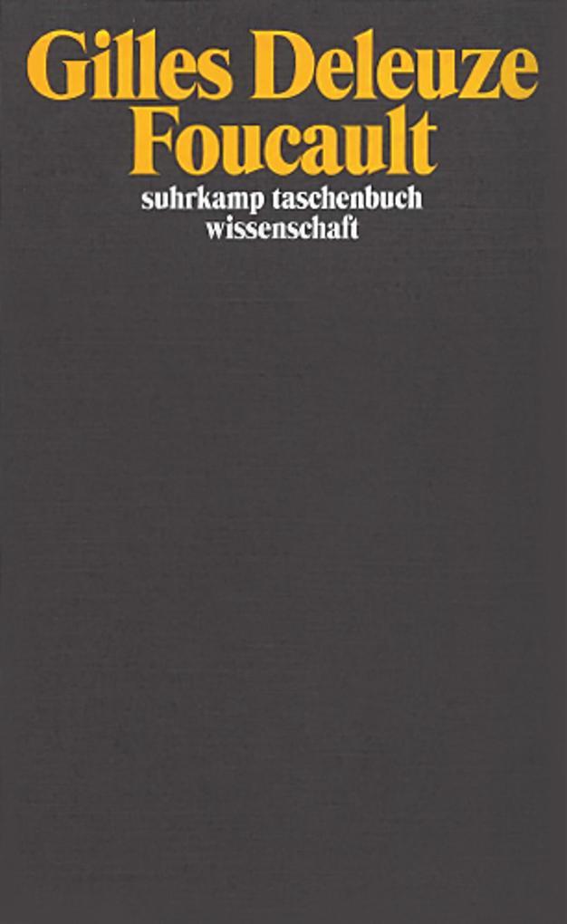 Foucault als Taschenbuch