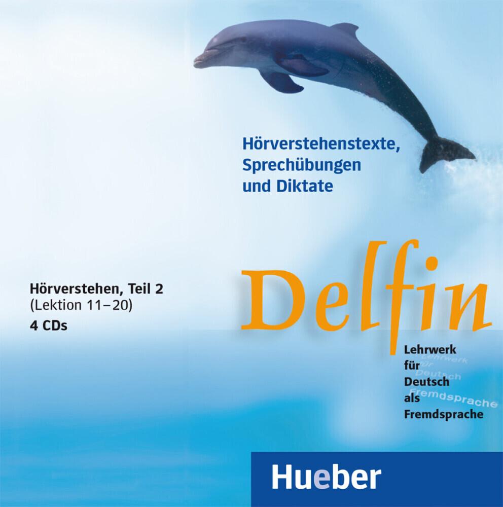 Delfin. Hörverstehen 2. 4 CDs als Hörbuch