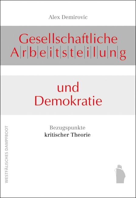 Gesellschaftliche Arbeitsteilung und Demokratie als Buch