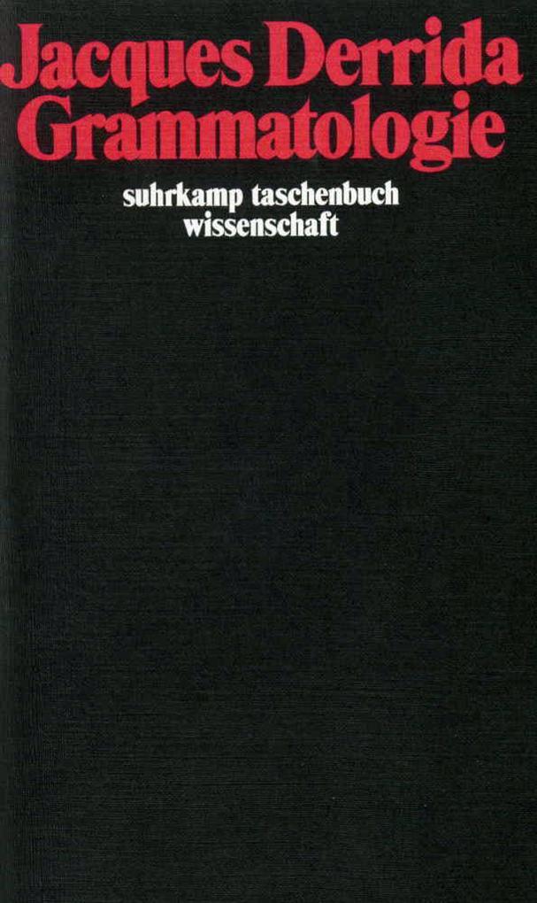 Grammatologie als Taschenbuch