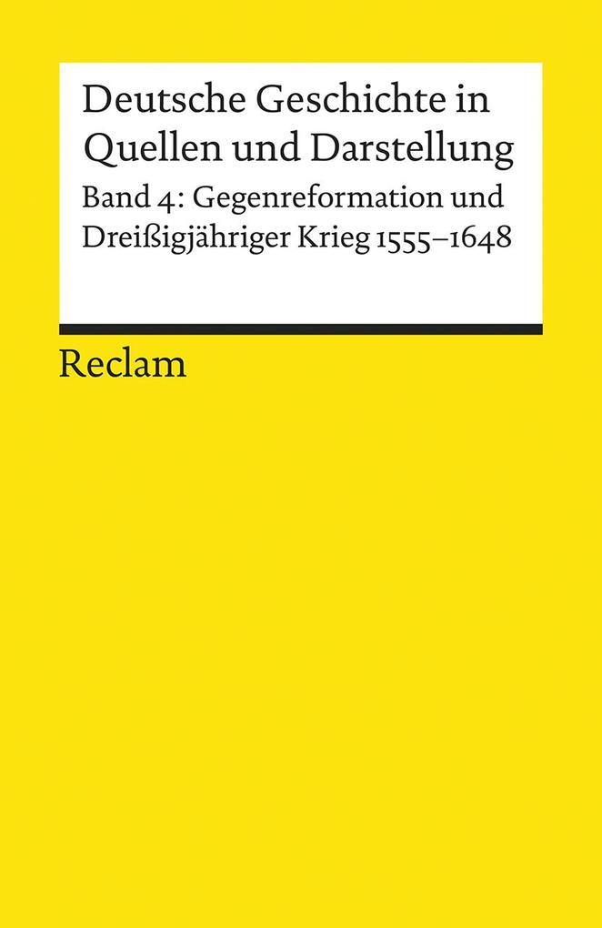 Deutsche Geschichte 4 in Quellen und Darstellung als Taschenbuch