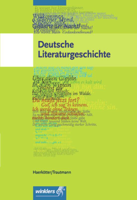 Deutsche Literaturgeschichte als Buch
