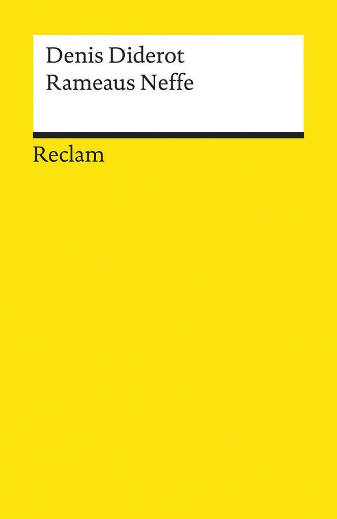 Rameaus Neffe als Taschenbuch
