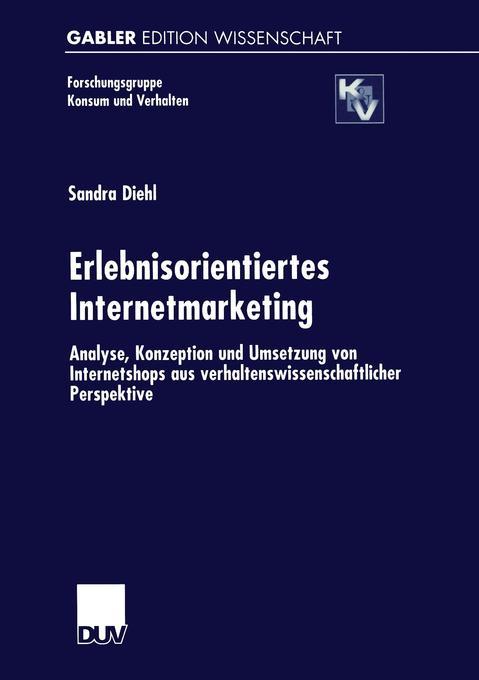 Erlebnisorientiertes Internetmarketing als Buch