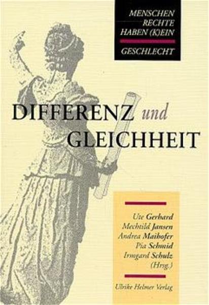 Differenz und Gleichheit als Buch