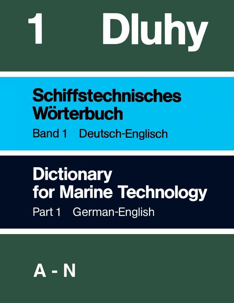 Schiffstechnisches Wörterbuch Dtsch - Engl. 2 Bände als Buch