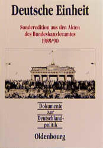 Dokumente zur Deutschlandpolitik als Buch