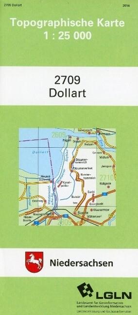Dollart 1 : 25 000. (TK 2709/N) als Buch