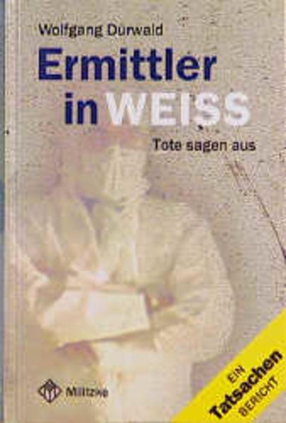 Ermittler in Weiss als Buch