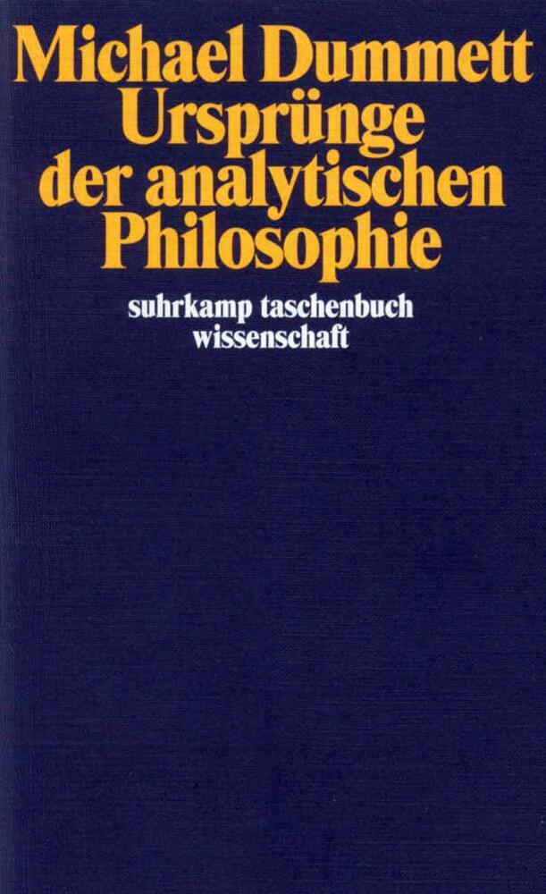 Ursprünge der analytischen Philosophie als Taschenbuch