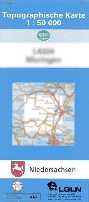 Einbeck 1 : 50 000. (L 4124/N) als Buch
