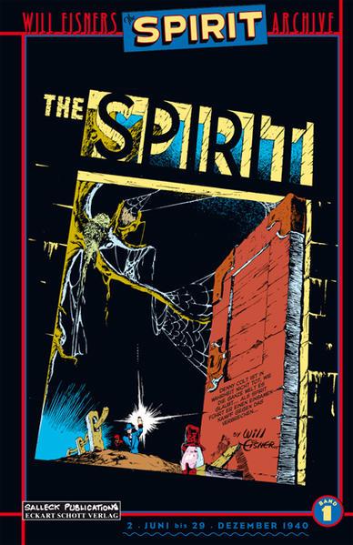 Spirit 01. Jahrgang 1940 als Buch