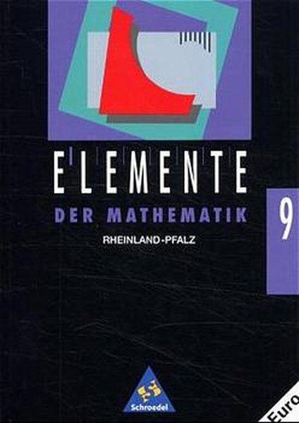 Elemente der Mathematik 9. Rheinland-Pfalz als Buch