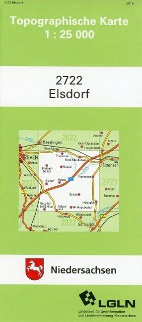 Elsdorf 1 : 25 000 als Buch