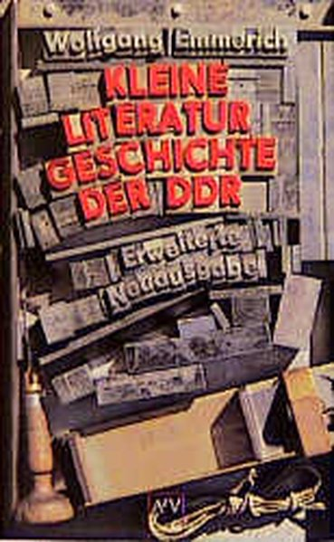 Kleine Literaturgeschichte der DDR als Taschenbuch