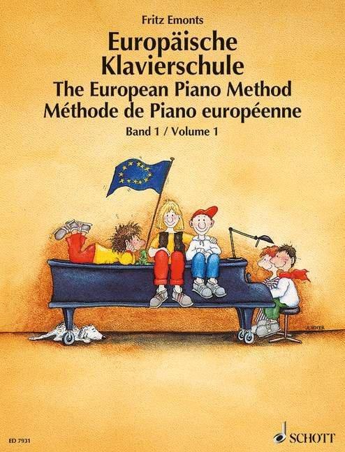 Europäische Klavierschule 1 als Buch